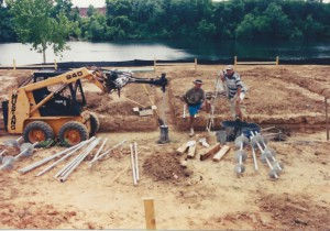 Commercial Services - New Construction Piles : Micro Piles #1