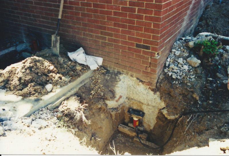 Foundation Underpinning Mr Foundation Repair Mr