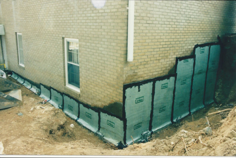 Waterproof Basement Construction : Basement waterproofing mr foundation repair