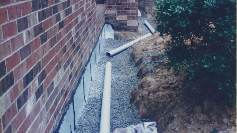 Residential Repairs - Basement Waterproofing #2