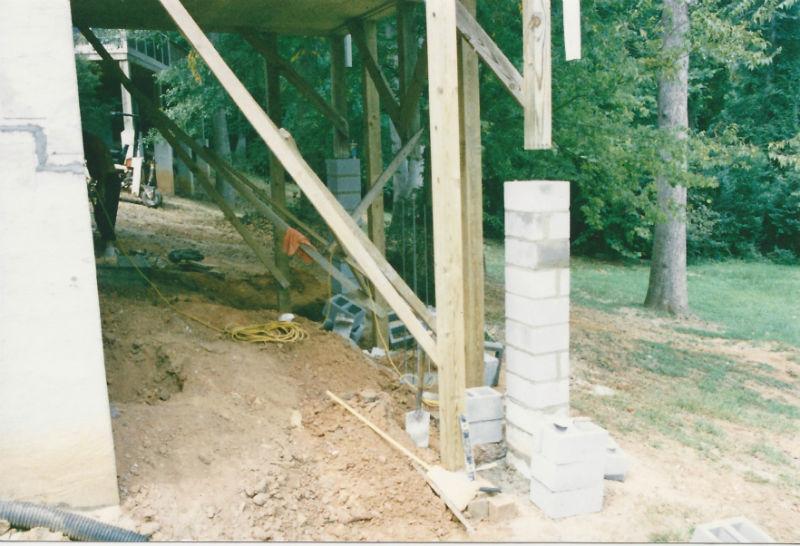 basement wall repair mr foundation repair mr foundation repair
